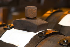 Italian balsamic vinegar. Modena traditional Stock Photos