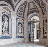 Italian Baroque sculptures Stock Image