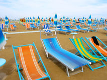 Italian beach Royalty Free Stock Image