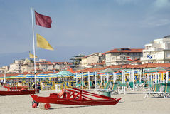 Italian beach Royalty Free Stock Photography