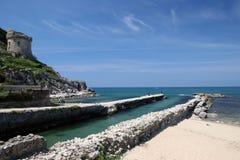 Italian beach Royalty Free Stock Photo
