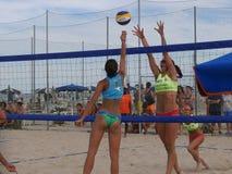 Italian Beach Volley Championship U21 - Female Stock Photography