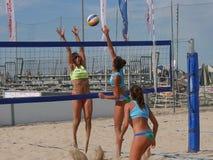 Italian Beach Volley Championship U21 - Female Royalty Free Stock Photography