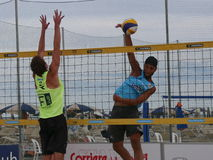Italian Beach Volley Championship U21 - Male Royalty Free Stock Photo