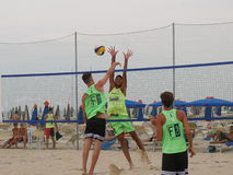 Italian Beach Volley Championship U21 - Male Stock Photo