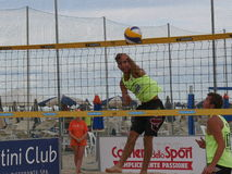 Italian Beach Volley Championship U21 - Male Royalty Free Stock Images