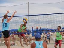 Italian Beach Volley Championship U21 - Male Royalty Free Stock Photo