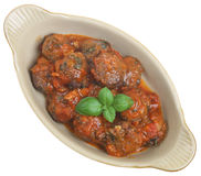 Italian Beef Meatballs Stock Images