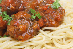 Italian Beef Meatballs Stock Photography