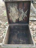 Italian beekeeping box in Vietnam royalty free stock photos
