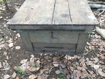Italian beekeeping box in Vietnam. Italian beekeeping box vietnam color stock photos