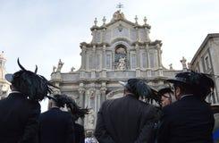 Italian Bersaglieri Royalty Free Stock Image
