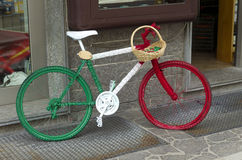 Italian bicycle Stock Photo