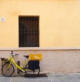 Italian Bicycle Royalty Free Stock Images