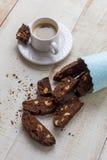 Italian Biscotti Stock Photo