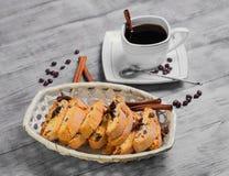 Italian biscotti cookies Royalty Free Stock Photo