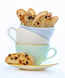 Italian biscotti cookies Royalty Free Stock Image