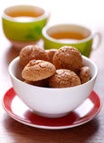 Italian biscuits Stock Image