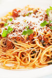 Italian bolognese pasta Royalty Free Stock Photography