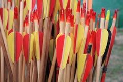 Italian bow and arrow Royalty Free Stock Image