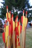Italian bow and arrow Stock Photo