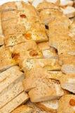 Italian bread background Royalty Free Stock Photos