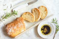 Italian bread Ciabatta Stock Photos