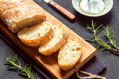 Italian bread Ciabatta Royalty Free Stock Photos