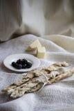 Italian bread sticks Royalty Free Stock Image