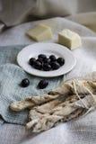 Italian bread sticks Stock Photos