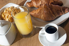 Italian breakfast Stock Images