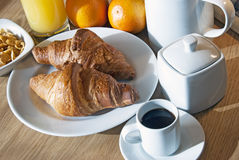 Italian breakfast Stock Photos