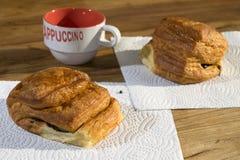 Italian breakfast Royalty Free Stock Images
