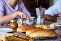 Italian breakfast Stock Image