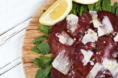 Italian bresaola Stock Photo