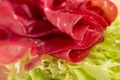 Italian bresaola prosciutto Royalty Free Stock Photo