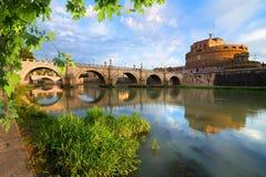 Italian bridge of Saint Angelo Royalty Free Stock Photos
