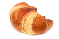 Italian brioche or french croissant Stock Photography
