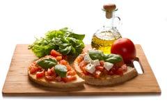 Italian bruschetta Stock Image