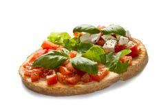 Italian bruschetta Stock Photo