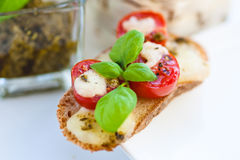 Italian Bruschetta Royalty Free Stock Image