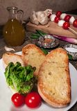 Italian bruschetta Royalty Free Stock Images