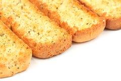 Italian bruschetta bread Stock Image