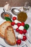 Italian bruschetta Royalty Free Stock Photo