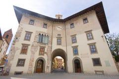 Italian building Stock Image