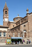 Italian built cathedral in asmara eritrea Royalty Free Stock Photos