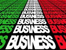 Italian business text royalty free illustration