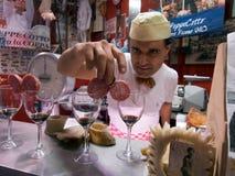 Italian butcher Stock Photos