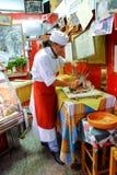 Italian butcher Royalty Free Stock Photography