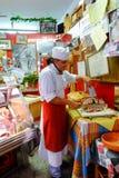 Italian butcher Royalty Free Stock Image